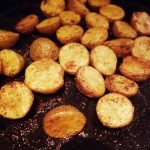 Oven Roasted Crispy Baby Potatoes