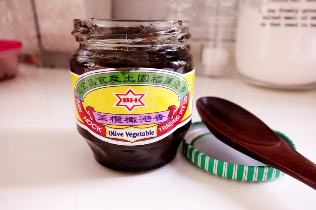 Chinese olive vegetables