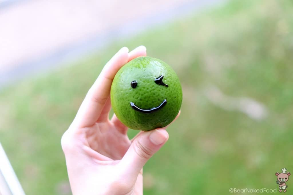 Perfect looking lime