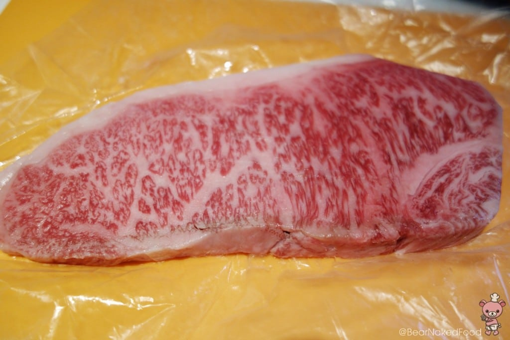 Look at the marbling.