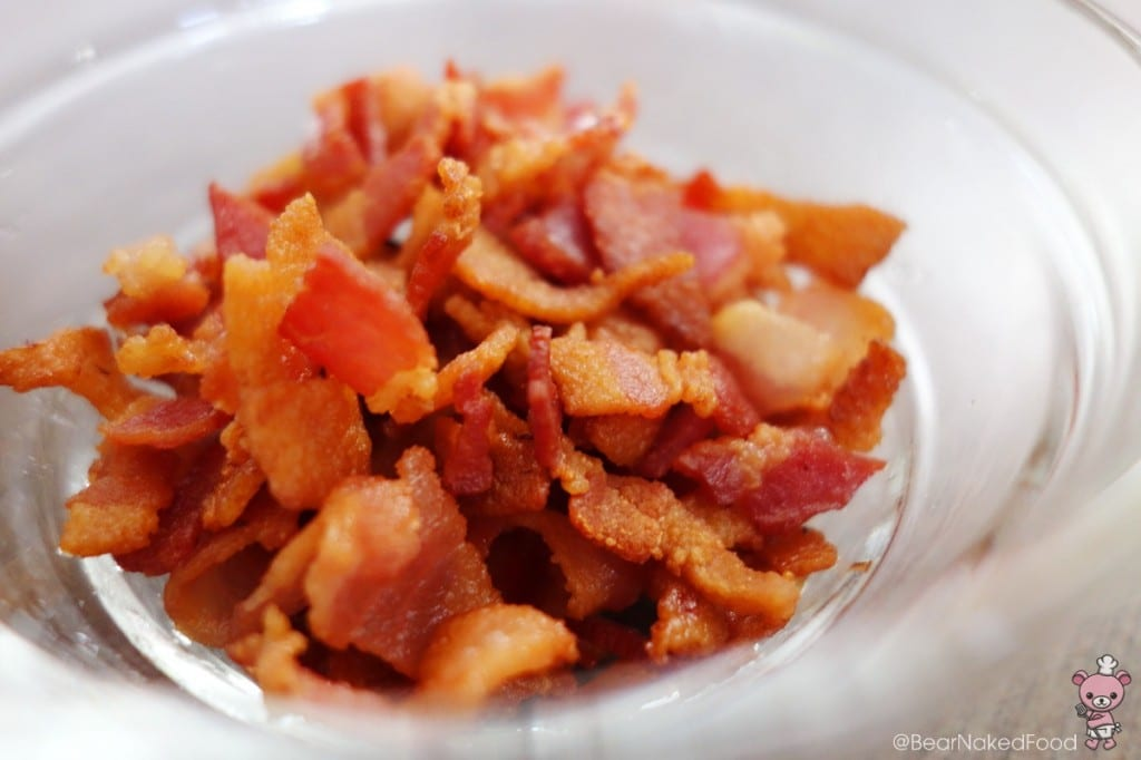 My bacon chips...yum!