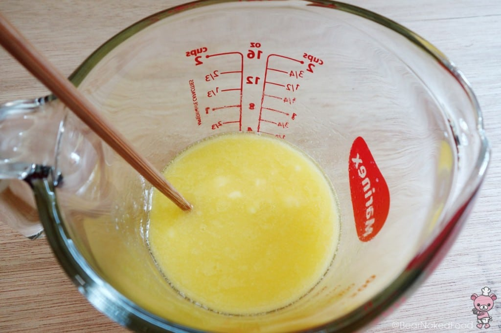 melting butter using microwave
