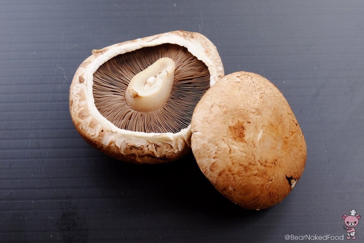 Medium-sized Portobello Mushrooms