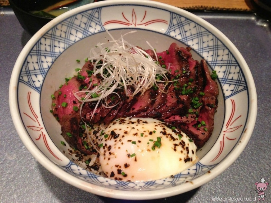 Original Wagyu Donburi from Fat Cow.