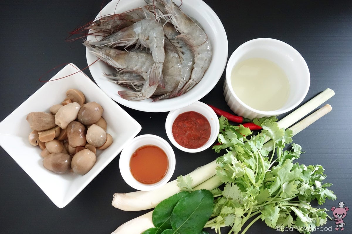 tom yum goong ingredients
