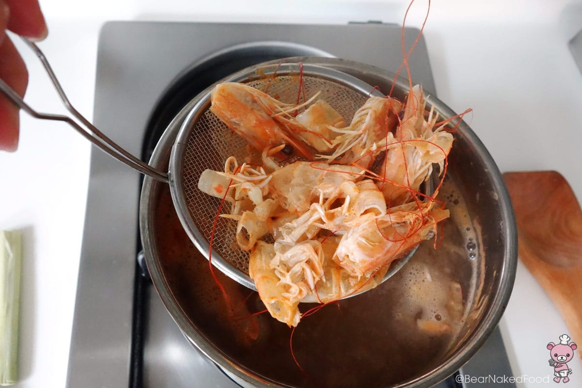how to make prawn stock