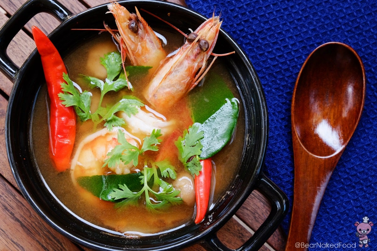 how to make tom yum goong