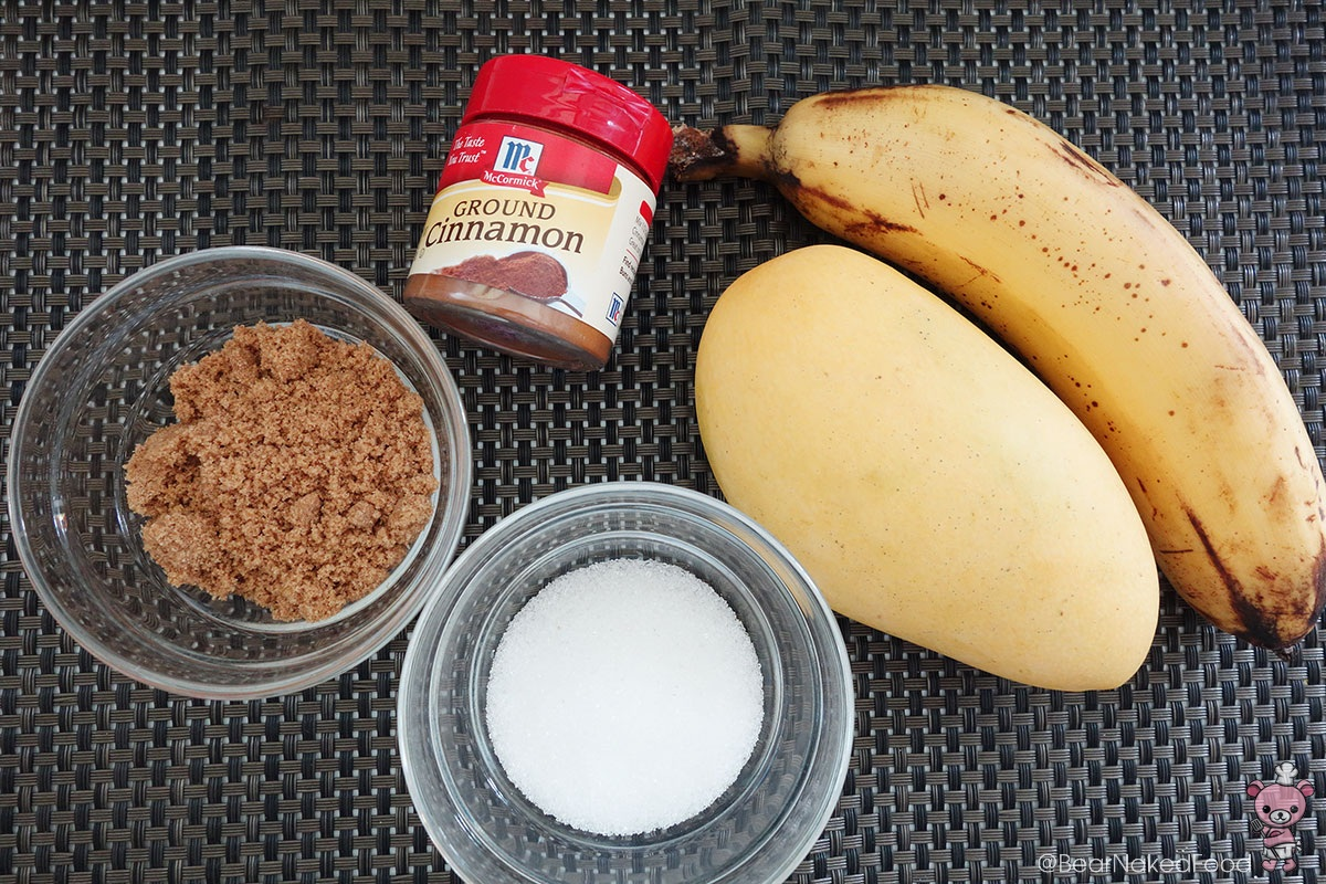 banana mango crumble filling