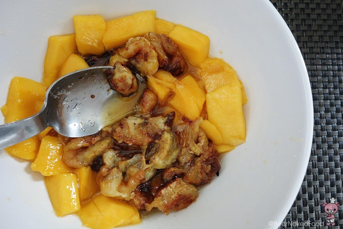 mango and banana