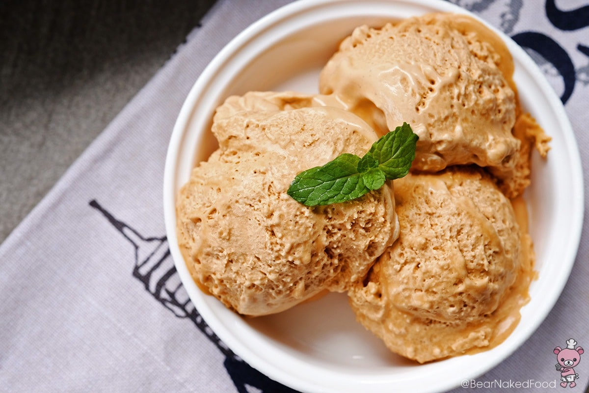 how to make thai iced tea ice cream