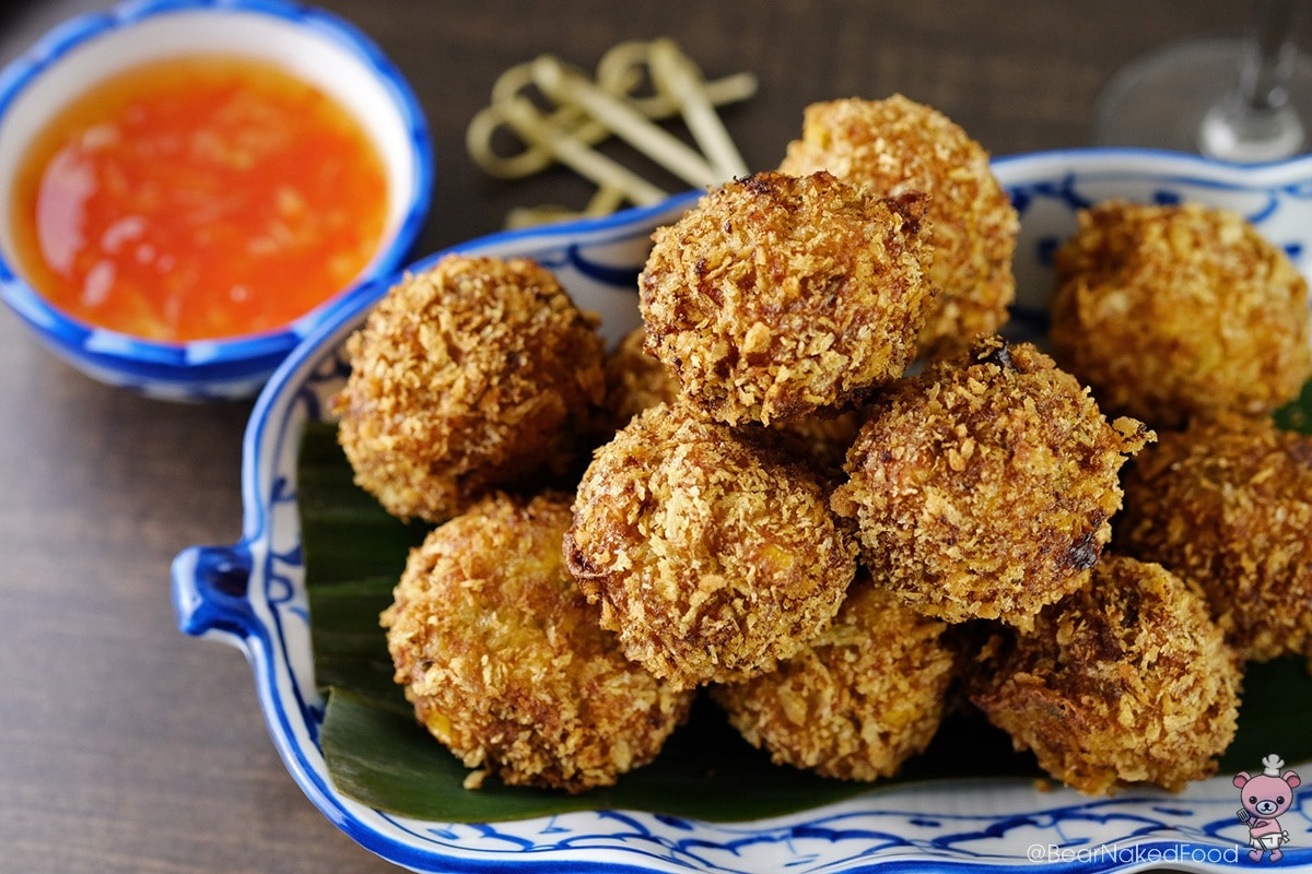 Thai Fried Shrimp Balls