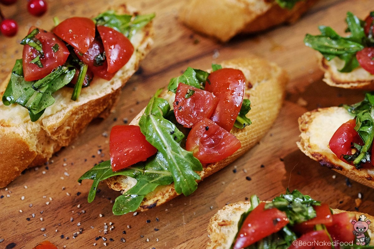 recipe: roasted garlic bruschetta [26]