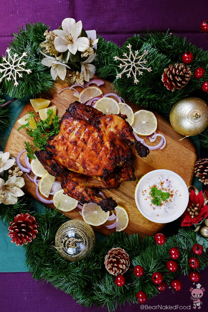 Christmas Tandoori Roasted Chicken