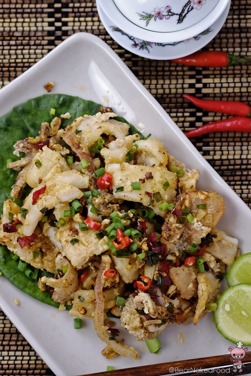 how to make salt and pepper squid