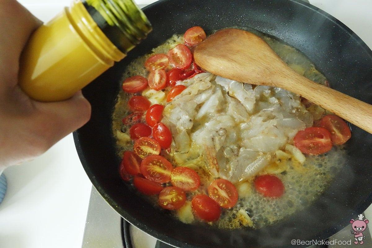 how to make crabmeat chilli pasta