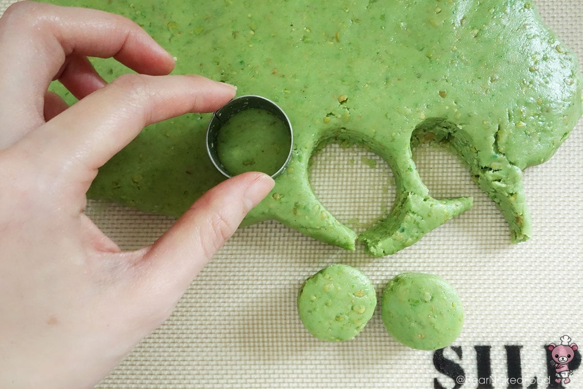 how to make green pea cookies