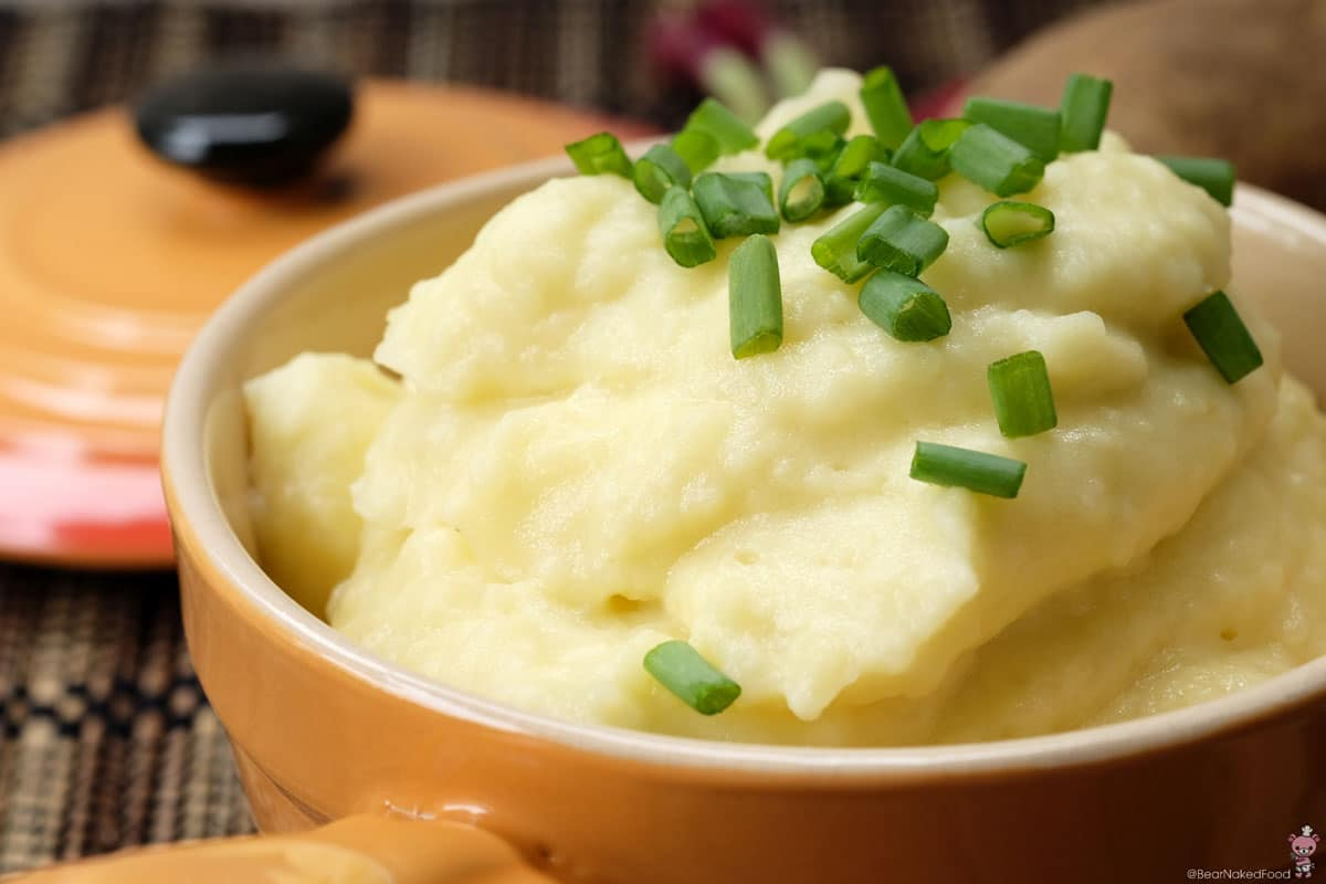 how to make creamy garlic mashed potatoes