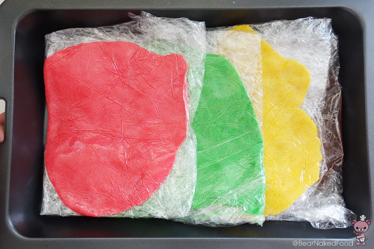 how to make colored craquelin