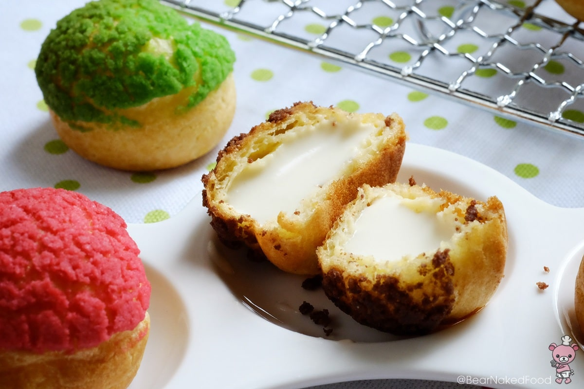 Colorful Choux au Craquelin