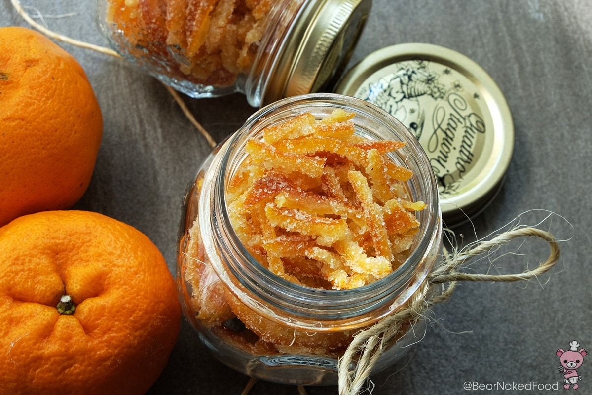 Candied Mandarin Orange Peel