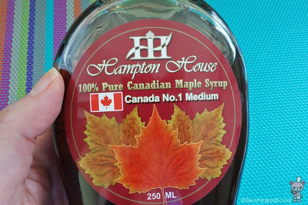 100% pure canadian maples syrup