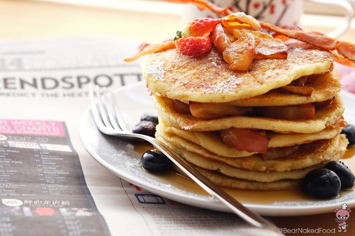 melt-in-your-mouth pancakes