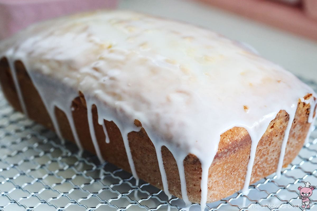bear naked food lemon glazed pound cake