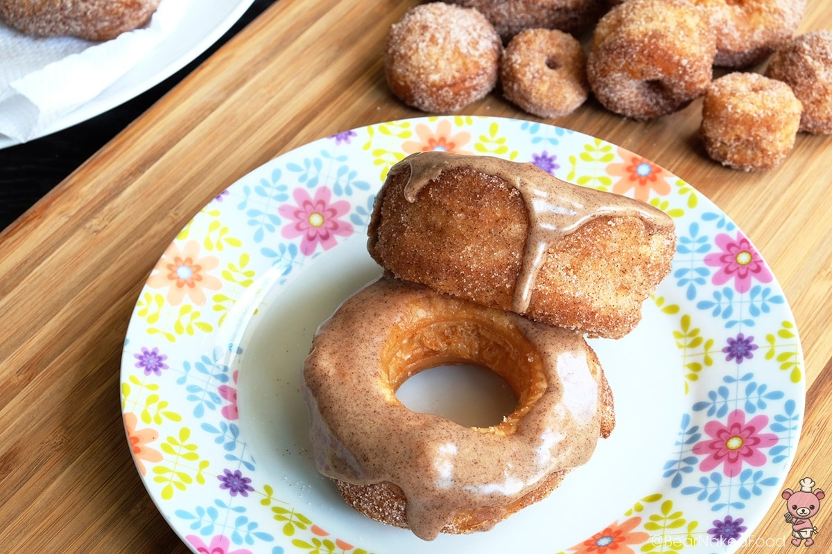 Bear Naked Food cinnamon spiced glazed cronut