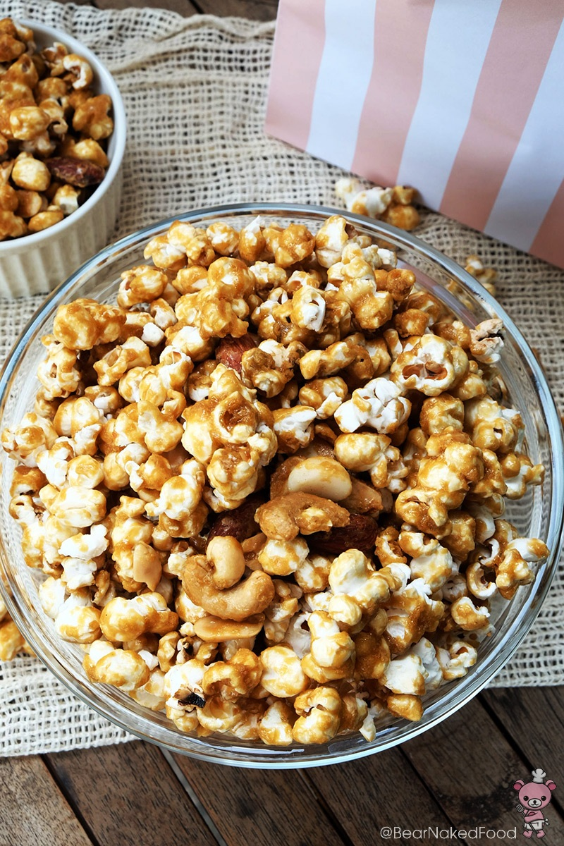 how to make Homemade Caramel Popcorn