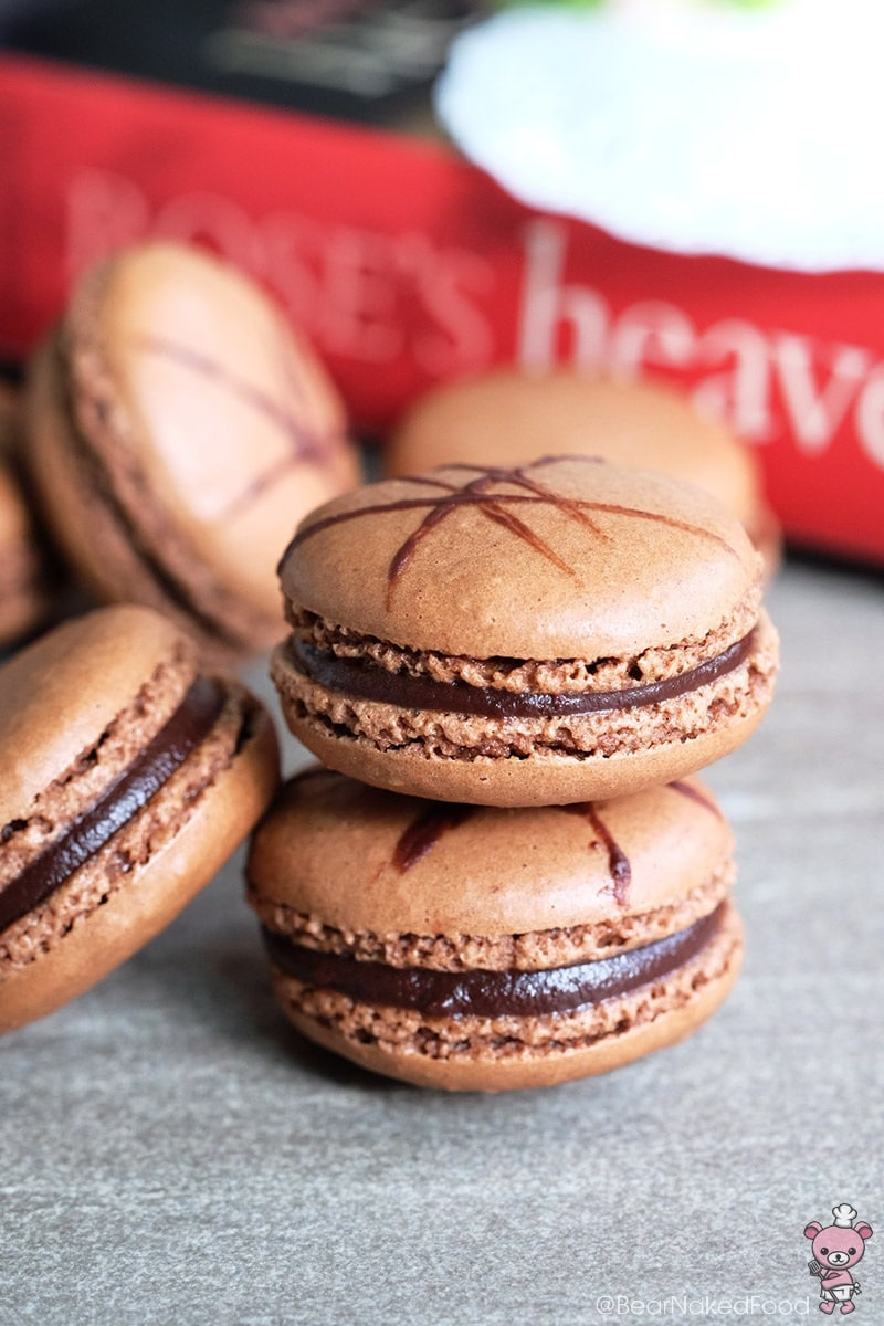 Foolproof French Chocolate Macarons by Bear Naked Food