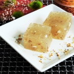 Osmanthus Water Chestnut Cake