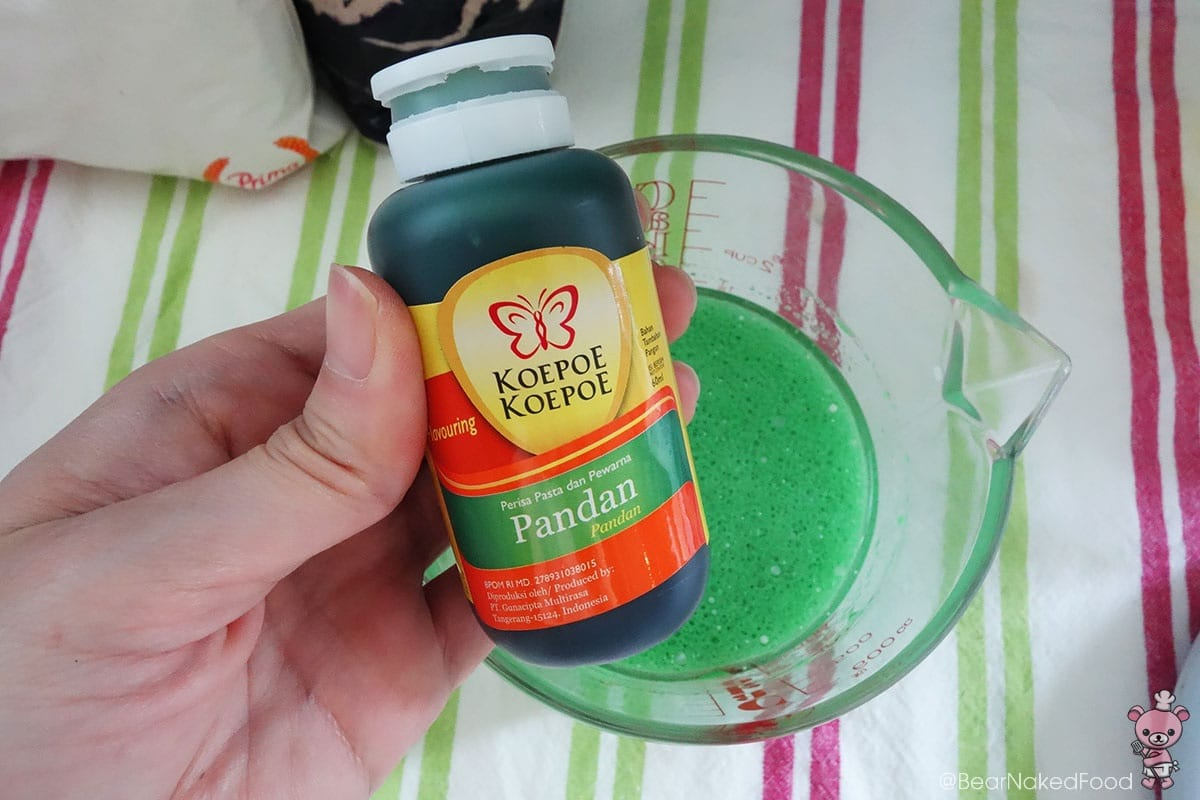 This brand of pandan paste is highly recommended for its fragrance and taste.
