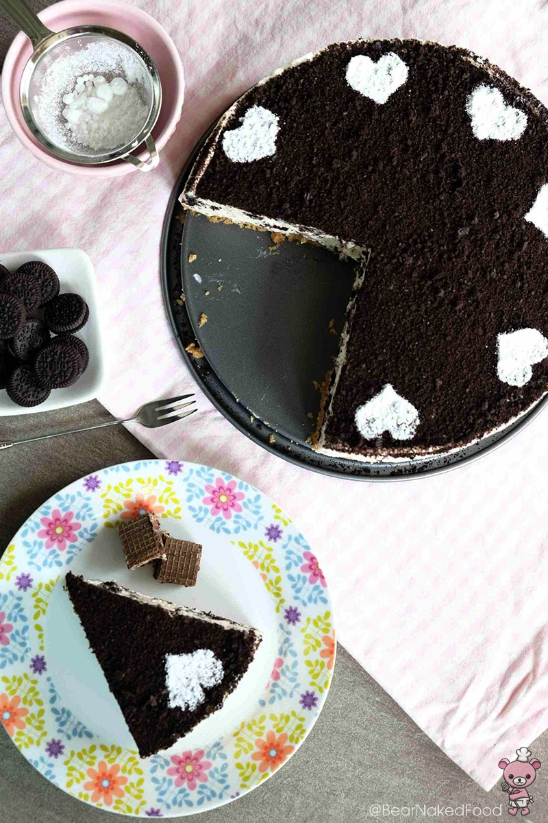 Bear Naked Food No Bake Oreo Cheesecake