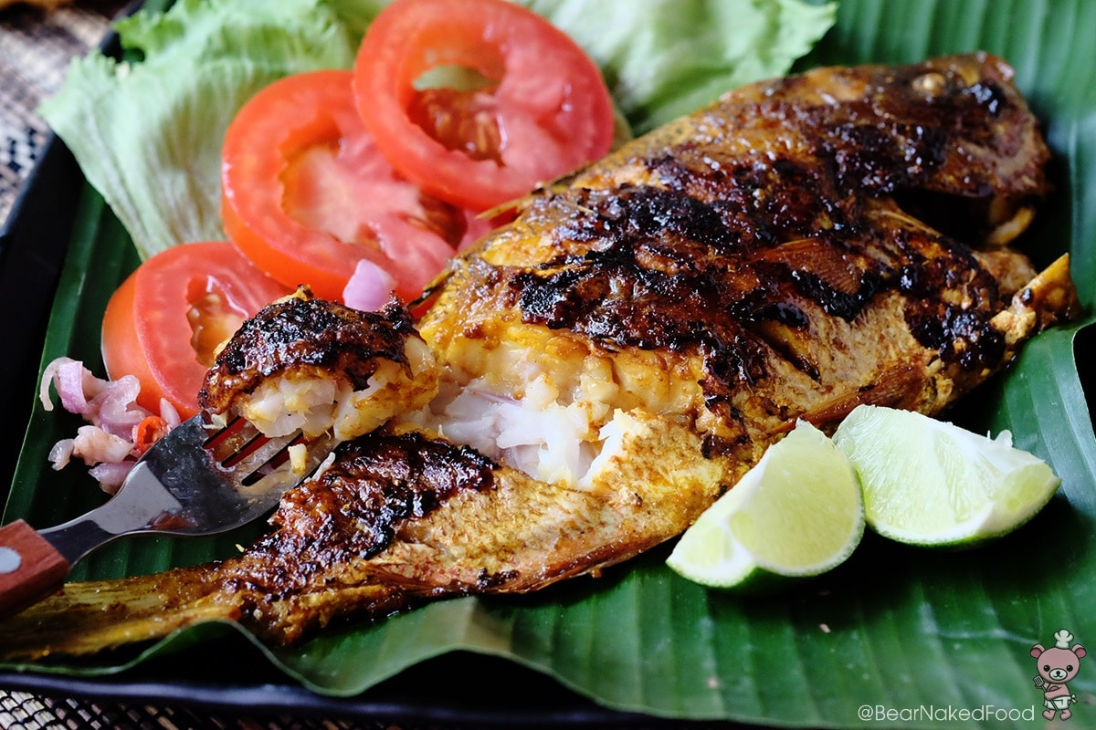 Bear Naked Food Balinese Ikan Bakar