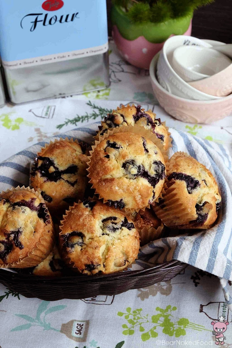 Bear Naked Food Best Blueberry Muffins