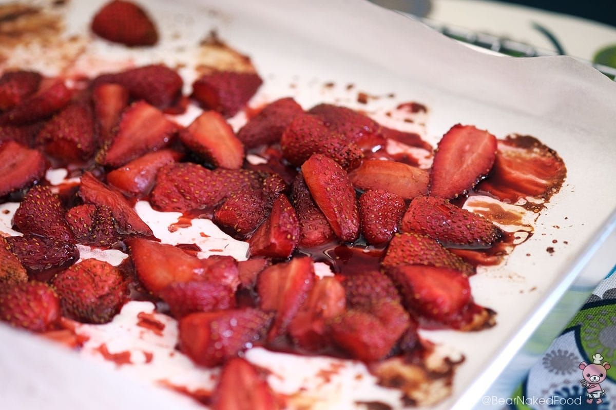 Bear Naked Food Balsamic Roasted Strawberries
