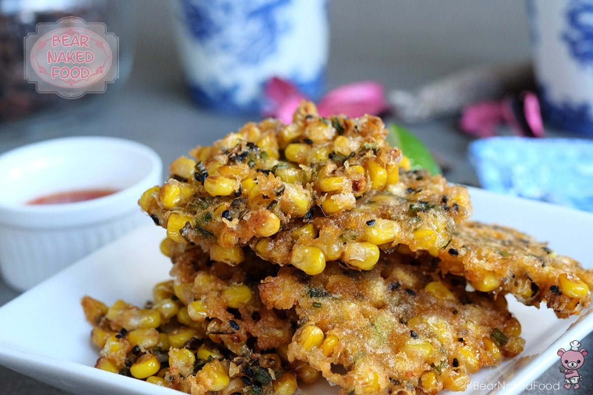 Bear Naked Food Crunchy Corn Fritters