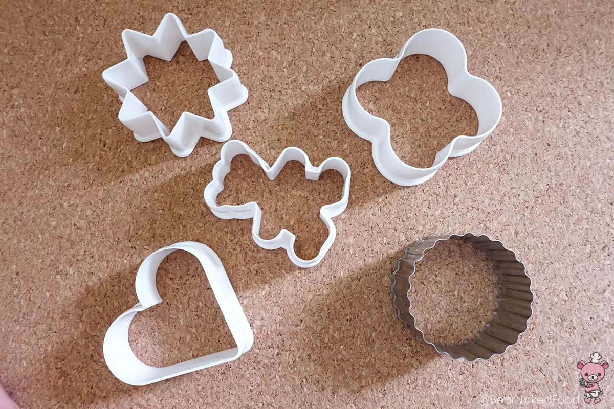 My trusty cookie cutters. :-)