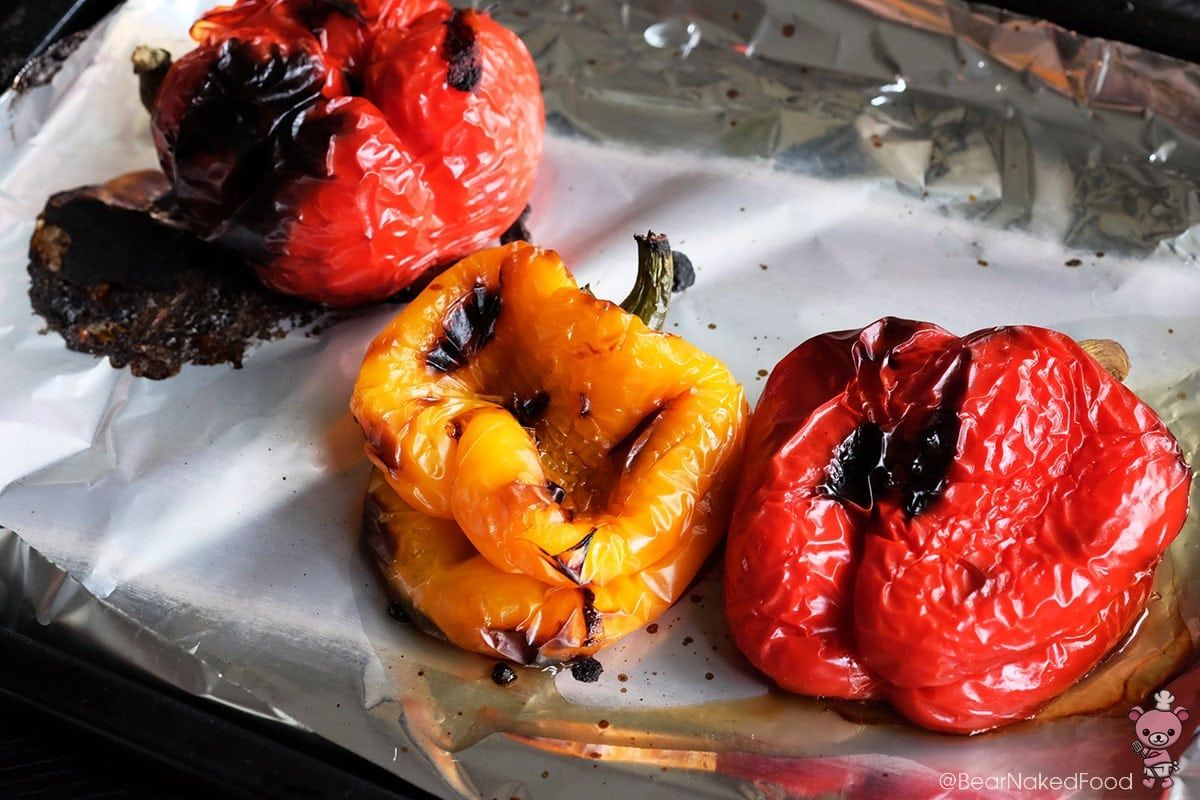 Bear Naked Food Easy Roasted Bell Peppers