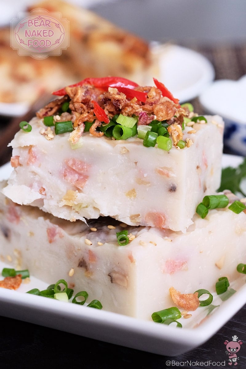 Bear Naked Food Hong Kong Style Radish Cake