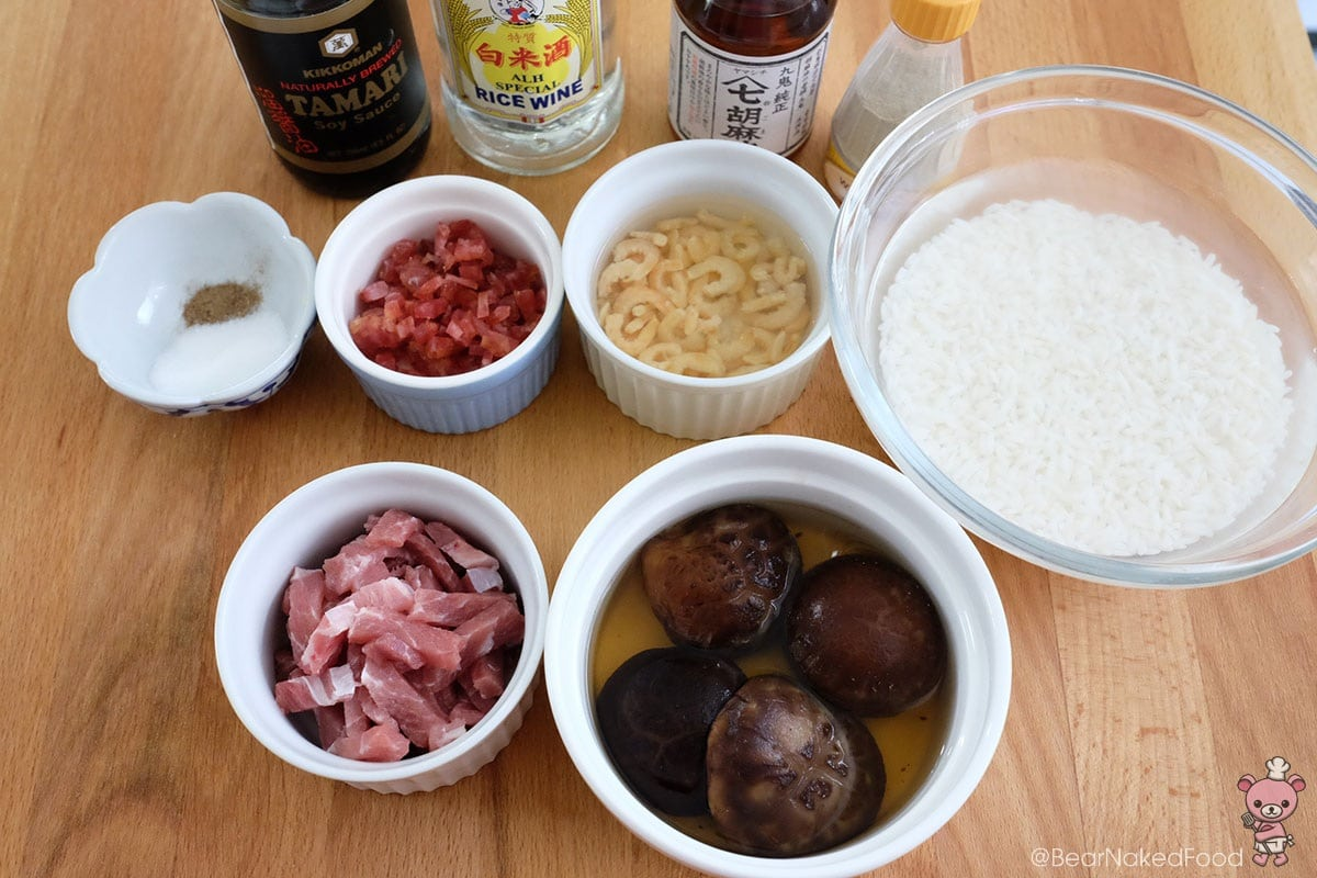 quick and easy stir fried glutinous rice