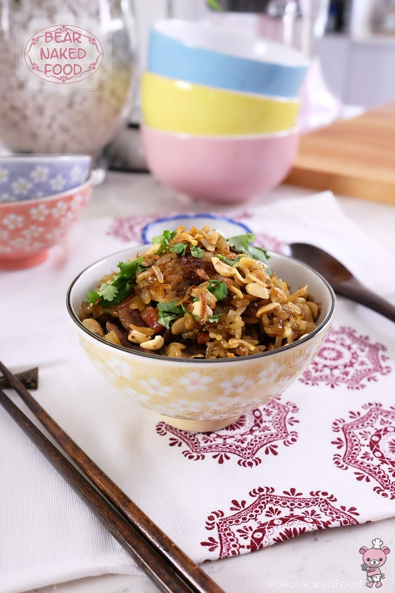 Bear Naked Food 15-min stir fried glutinous rice