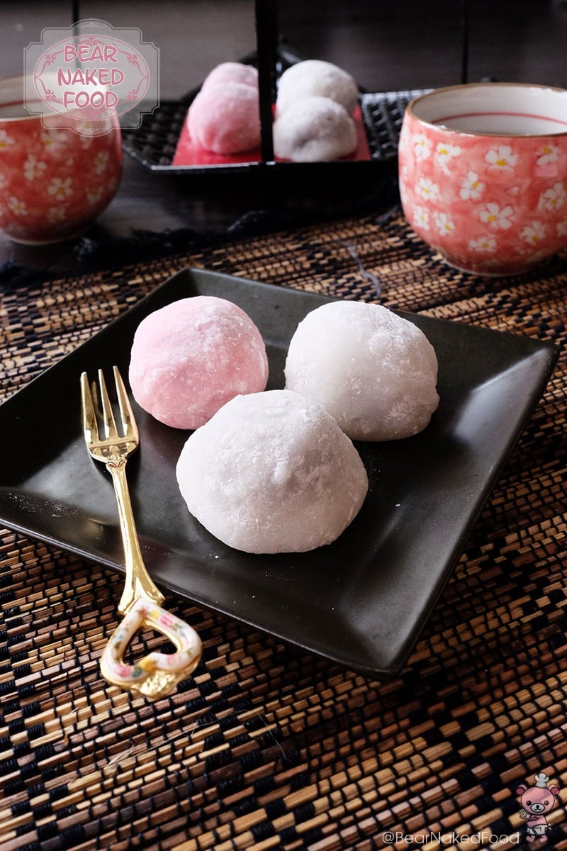Bear Naked Food Daifuku Mochi