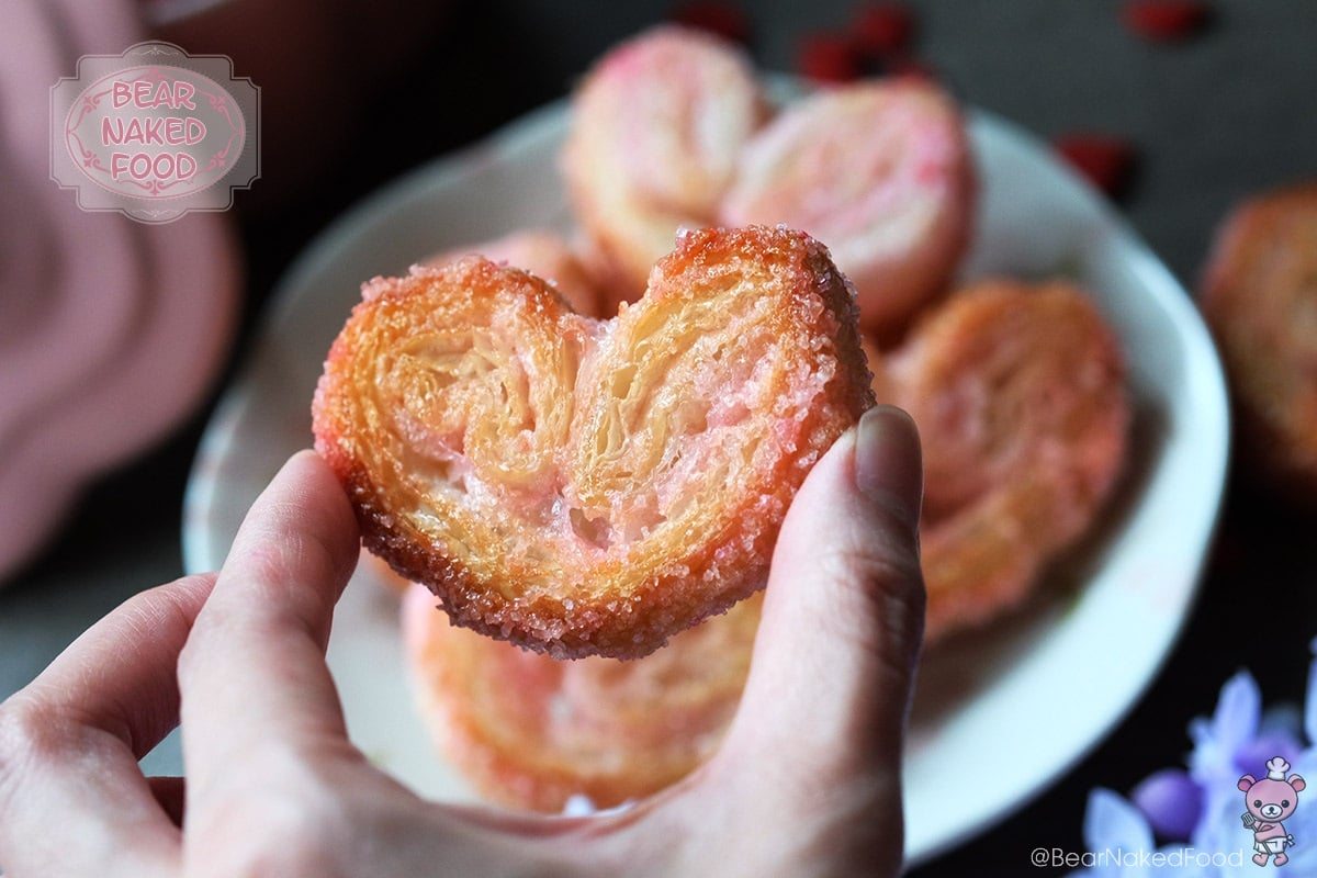 Bear Naked Food sweetheart palmiers