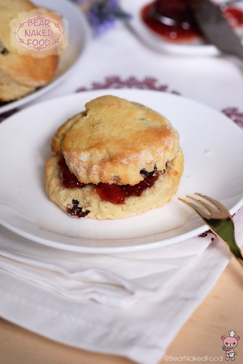 Bear Naked Food Easy Baked Tea Time Scones