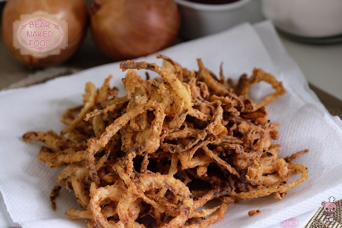 Bear Naked Food crispy fried onion strings