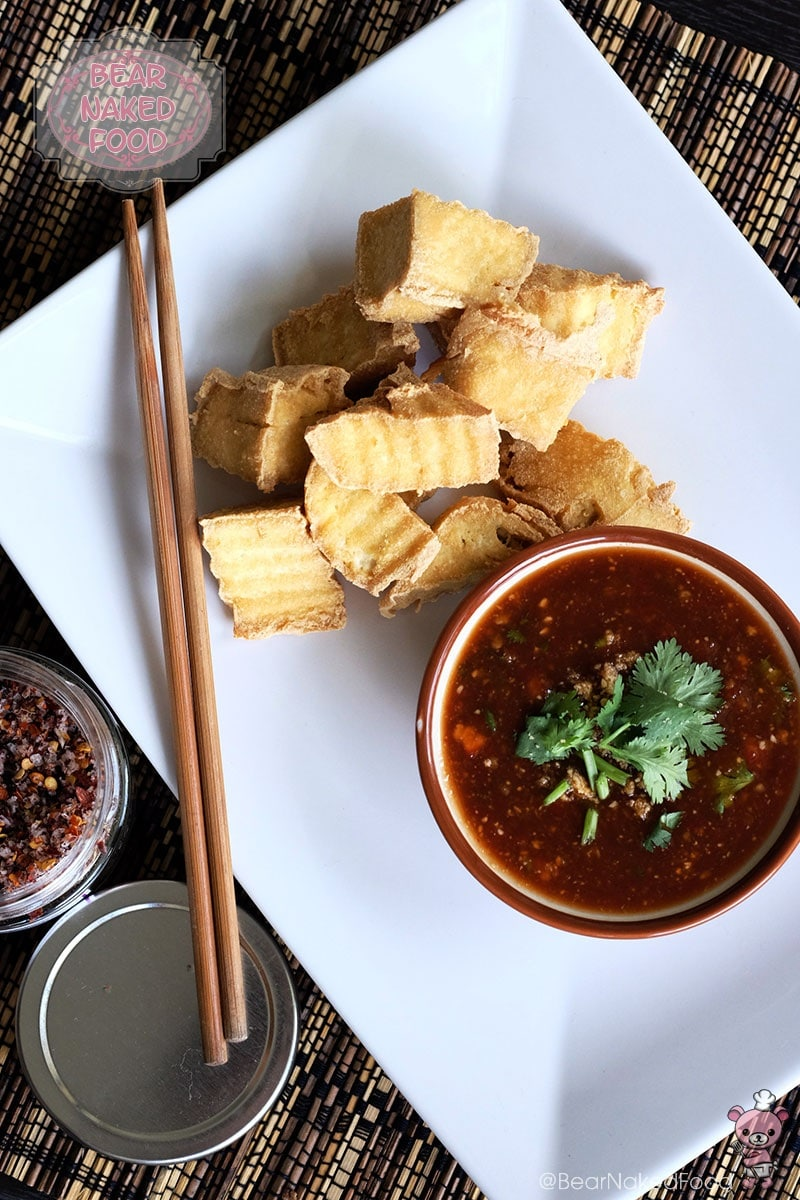 Bear Naked Food Fried Tofu with Thai Chilli Dip