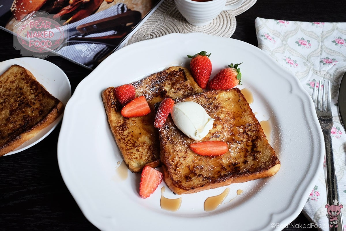 Bear Naked Food Creme Brulee French Toast