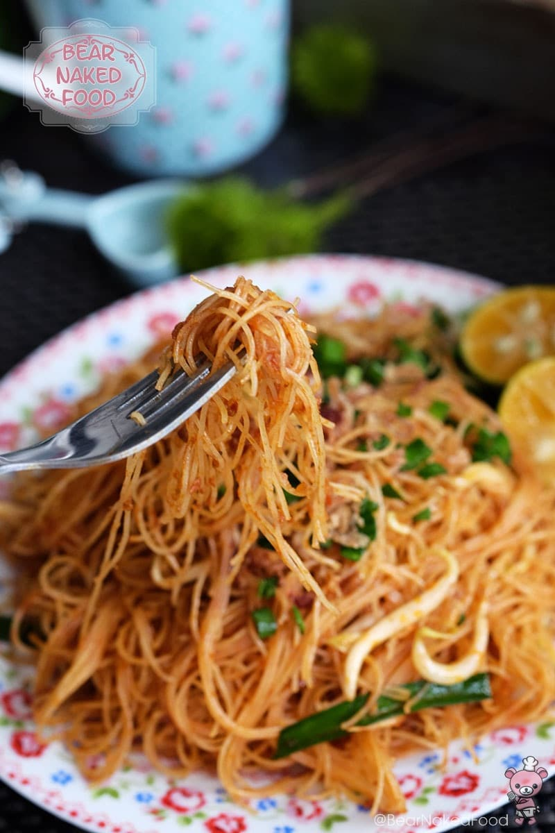 Bear Naked Food dry fried mee siam