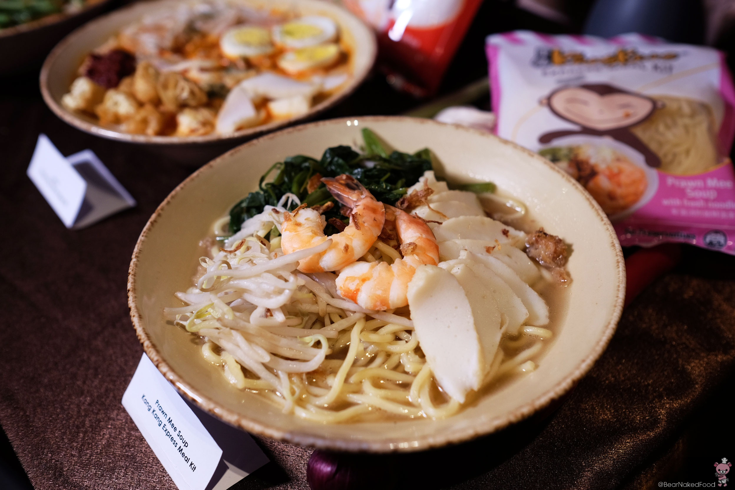 kang kang express meal kit Prawn Mee Soup